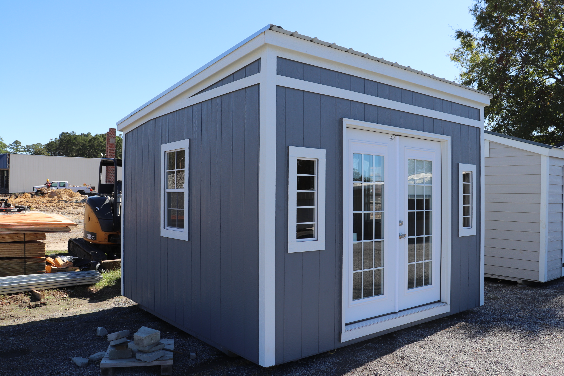 Myrtle 33 x 33 One Slope Style - She Shed